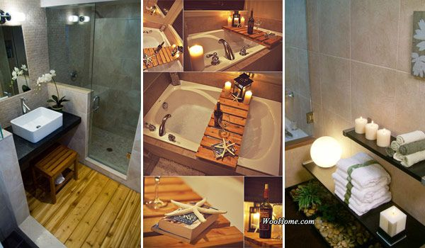 Inspiration Web Design Awesome Home Projects Created From Concrete Cinder Blocks Small bathroom Spa and Bathroom designs