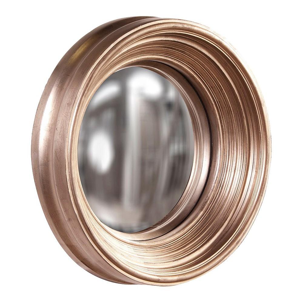 Howard Elliot Medium Silas Silver Mirror 20.5in, Light Silver
