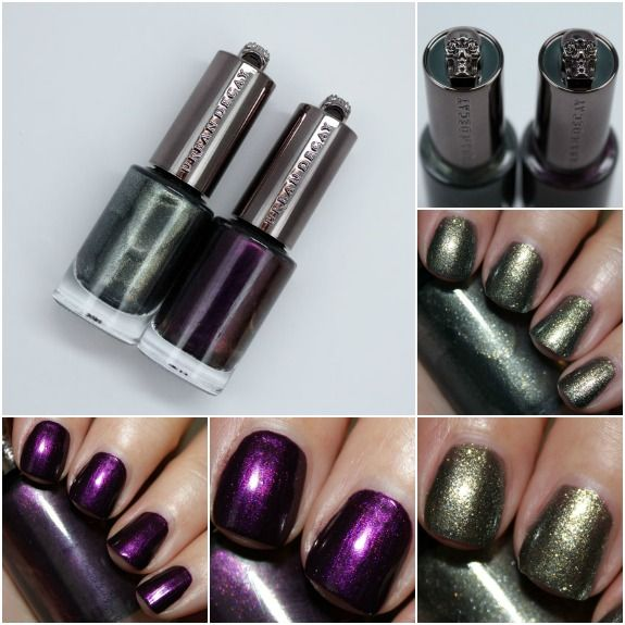 Urban Decay Nail Color In Vice And Addicted Limited Edition For Fall 2017 Www Vampyvarnish