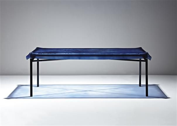 Philippe starck very rare illusion table 1992 color for Philippe starck glass table