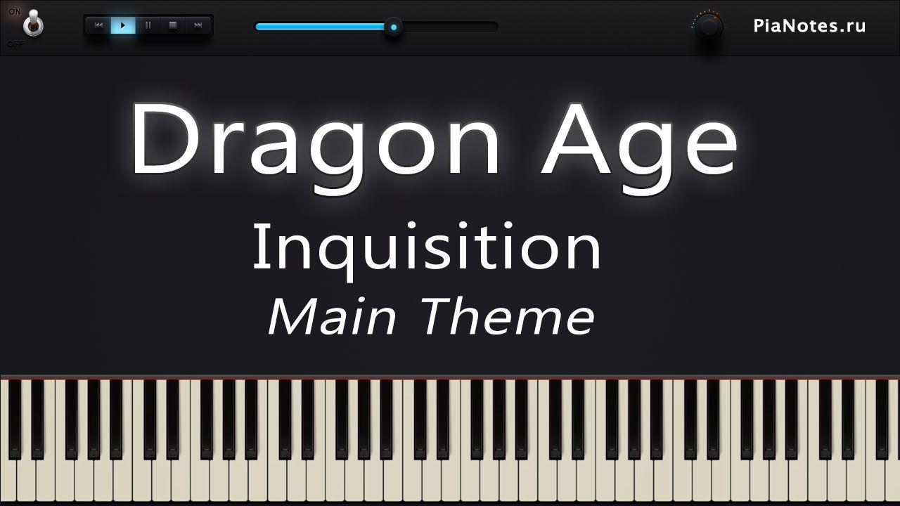 """Piano Tutorial """"Dragon Age Inquisition Main Theme"""