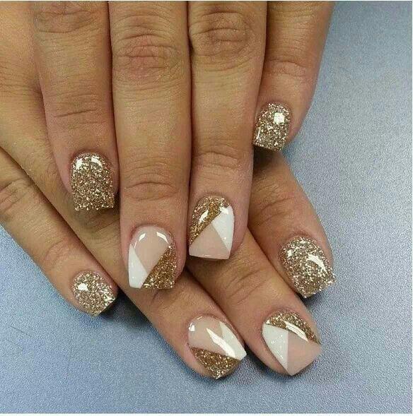 Pin de Piper Knoll en Nails | Uñas doradas, Manicura de uñas, Uñas decoradas con esmaltes