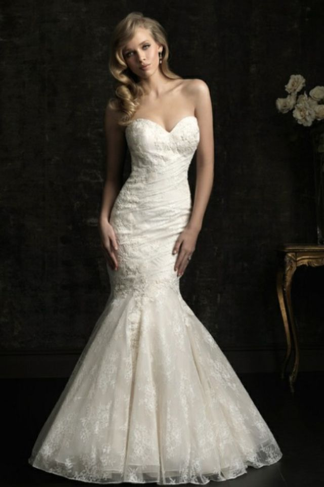 Allure Bridal; Lace Mermaid Tail.   Weddings   Pinterest   Wedding ...