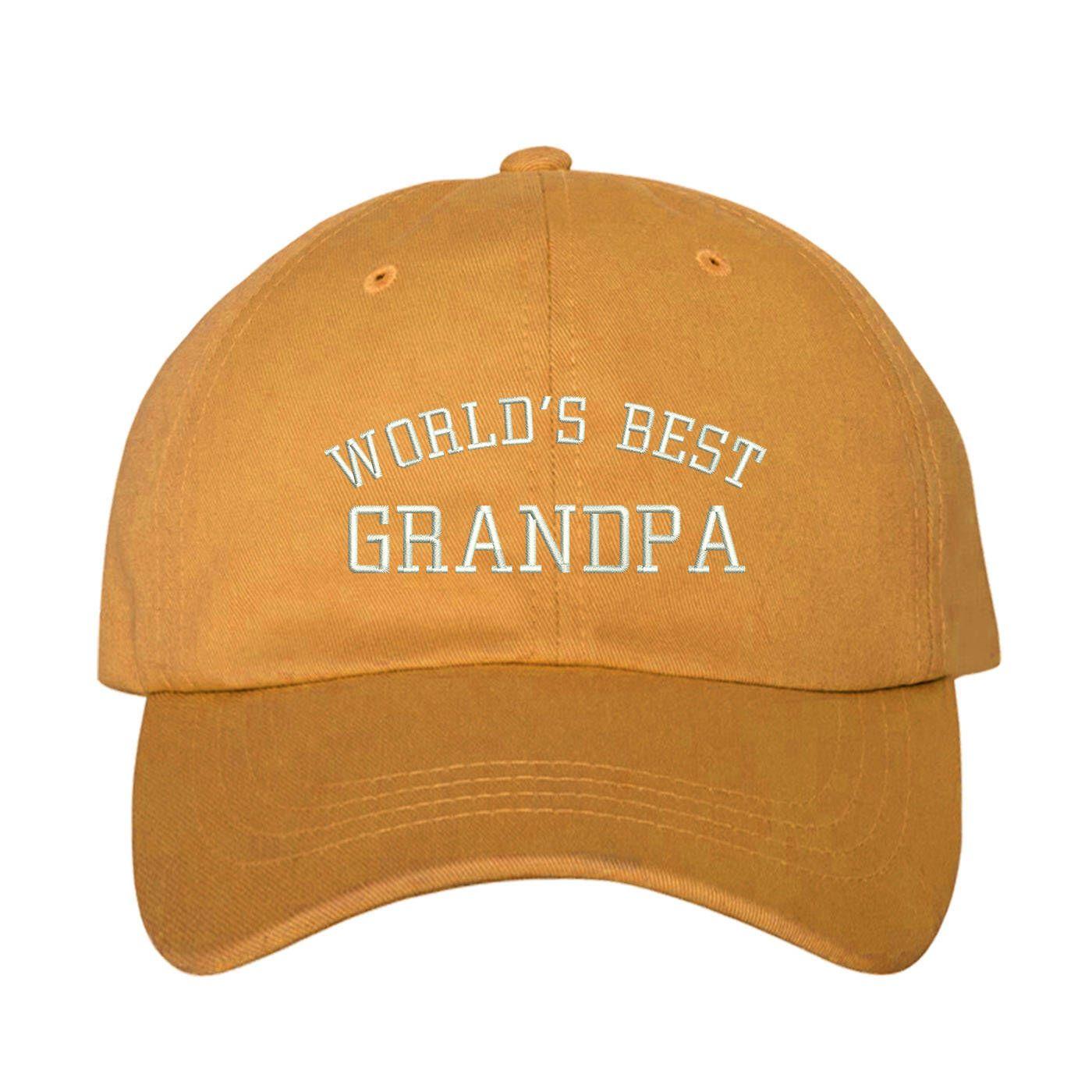 b45a8a24d59 World s BEST GRANDPA Dad Hat