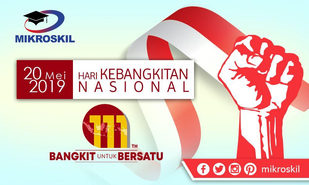 Selamat Hari Kebangkitan Nasional 20 Mei 2019 Bangkit Untuk