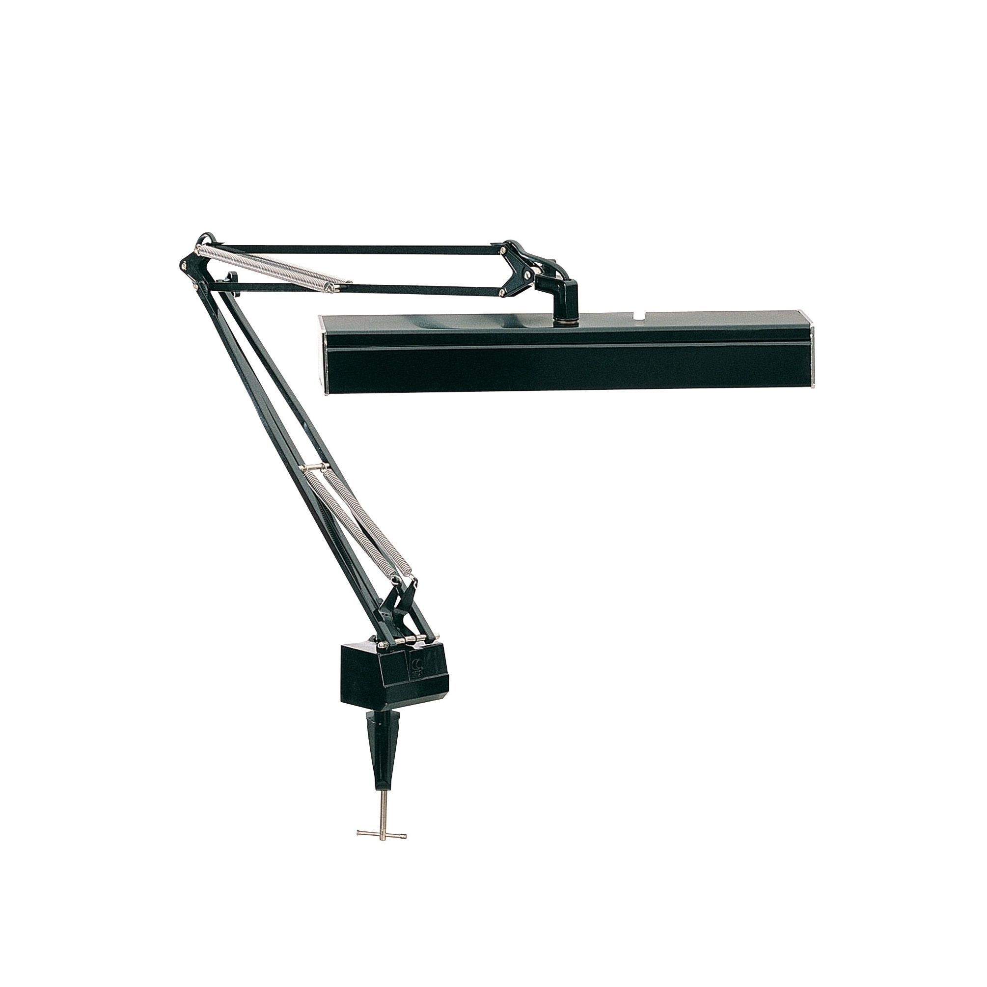 Lite Source Solare Fluorescent Clamp-on Swing Arm Lamp