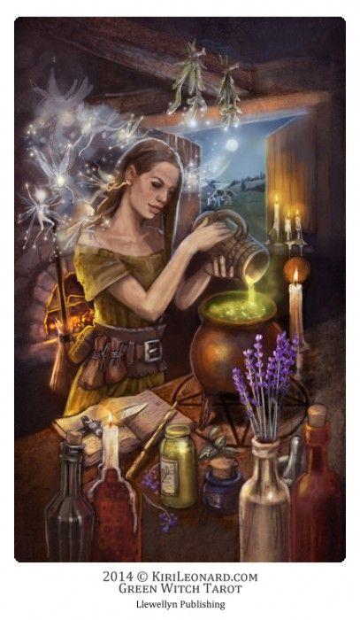 green witchcraft ann moura pdf