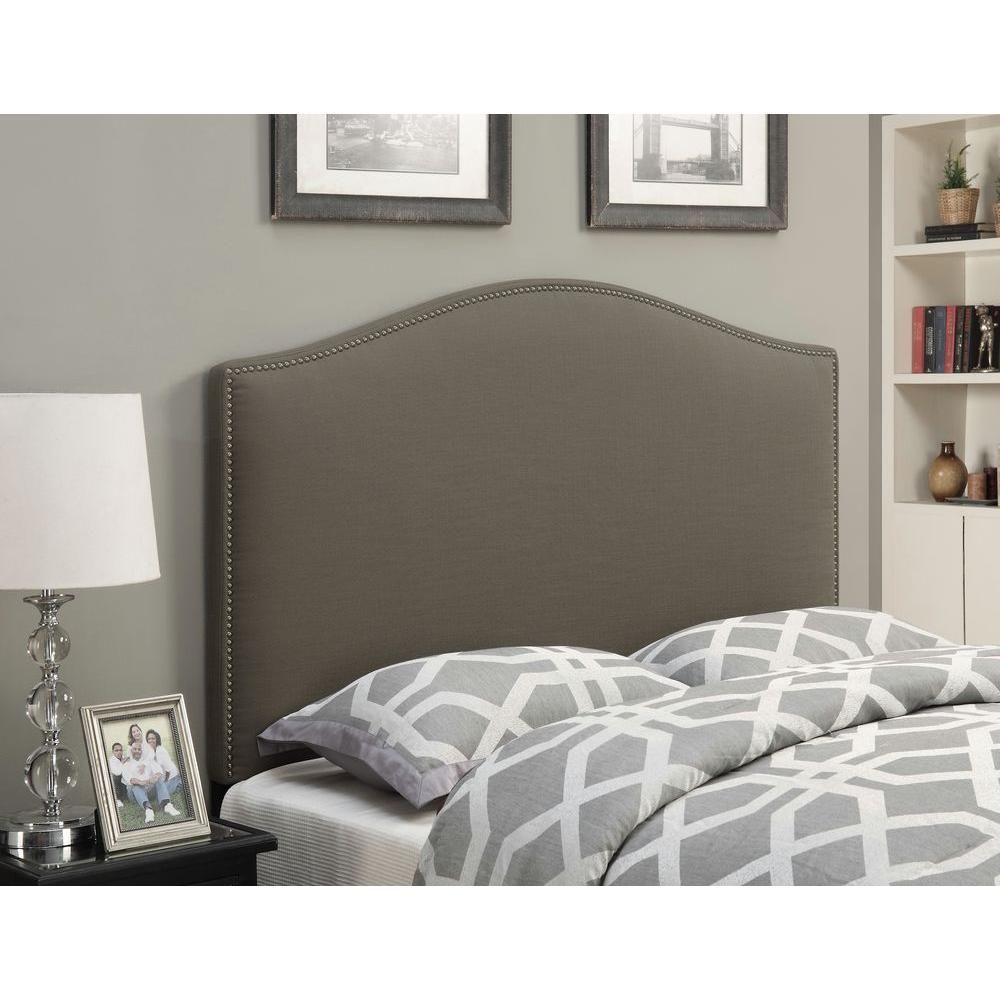 Pulaski Furniture Taupe Full Queen Headboard Brown Panel