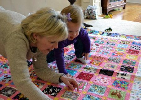 Ami Simms, Picture play quilts