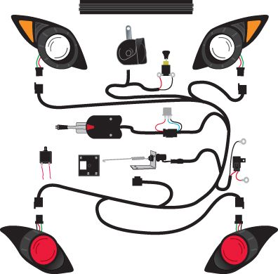 Deluxe Golf Cart Light Kits 2 - Golf Cart Trader | Golf Cart Light on motor for yamaha golf cart, tires for yamaha golf cart, parts for yamaha golf cart, headlights for yamaha golf cart, turn signals for yamaha golf cart, wiring diagram for yamaha dirt bike, seats for yamaha golf cart, carburetor for yamaha golf cart, cover for yamaha golf cart, brakes for yamaha golf cart,