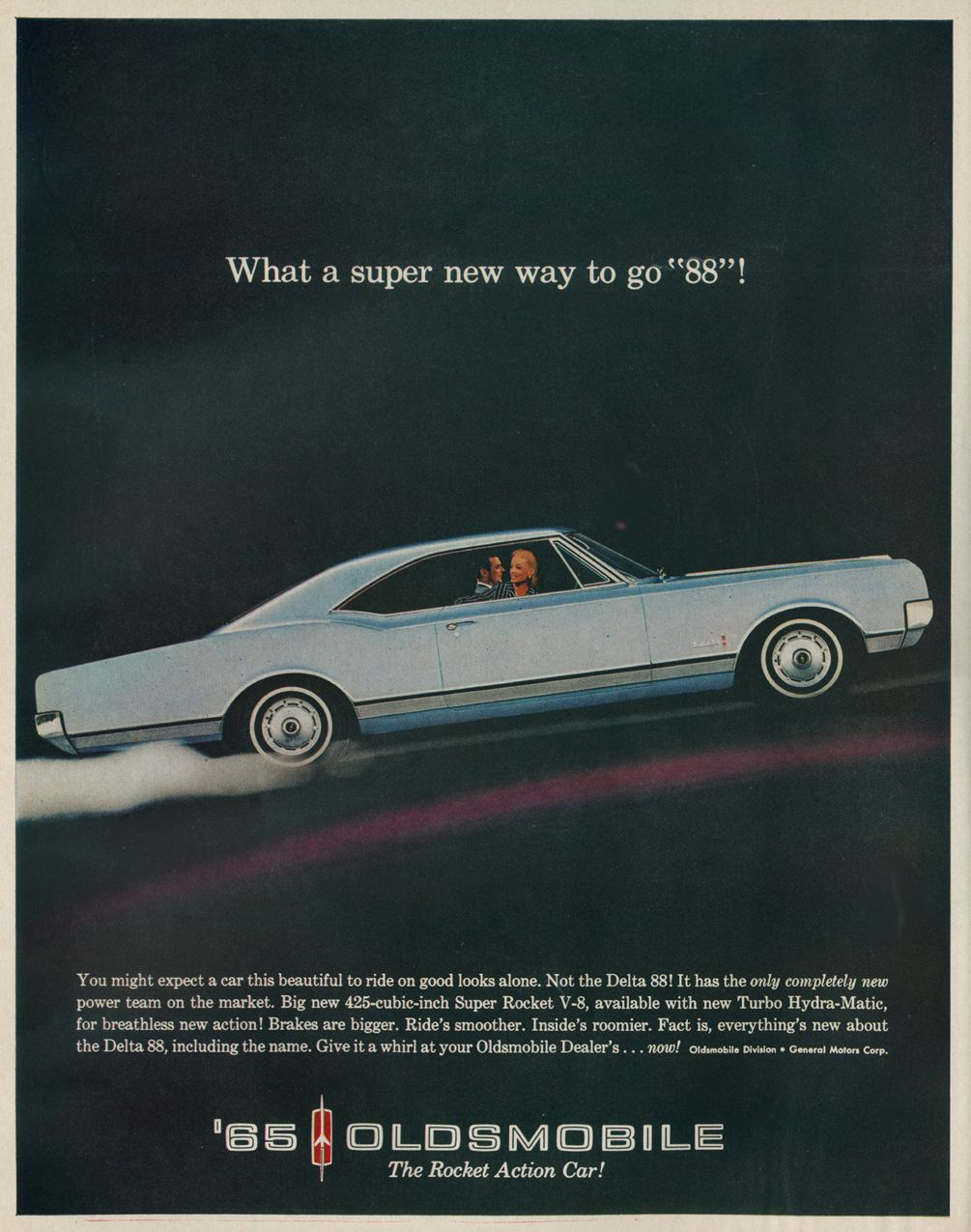 hight resolution of 1965 oldsmobile car advert