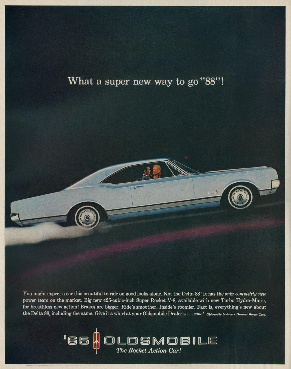 1965 oldsmobile car advert [ 1005 x 1275 Pixel ]