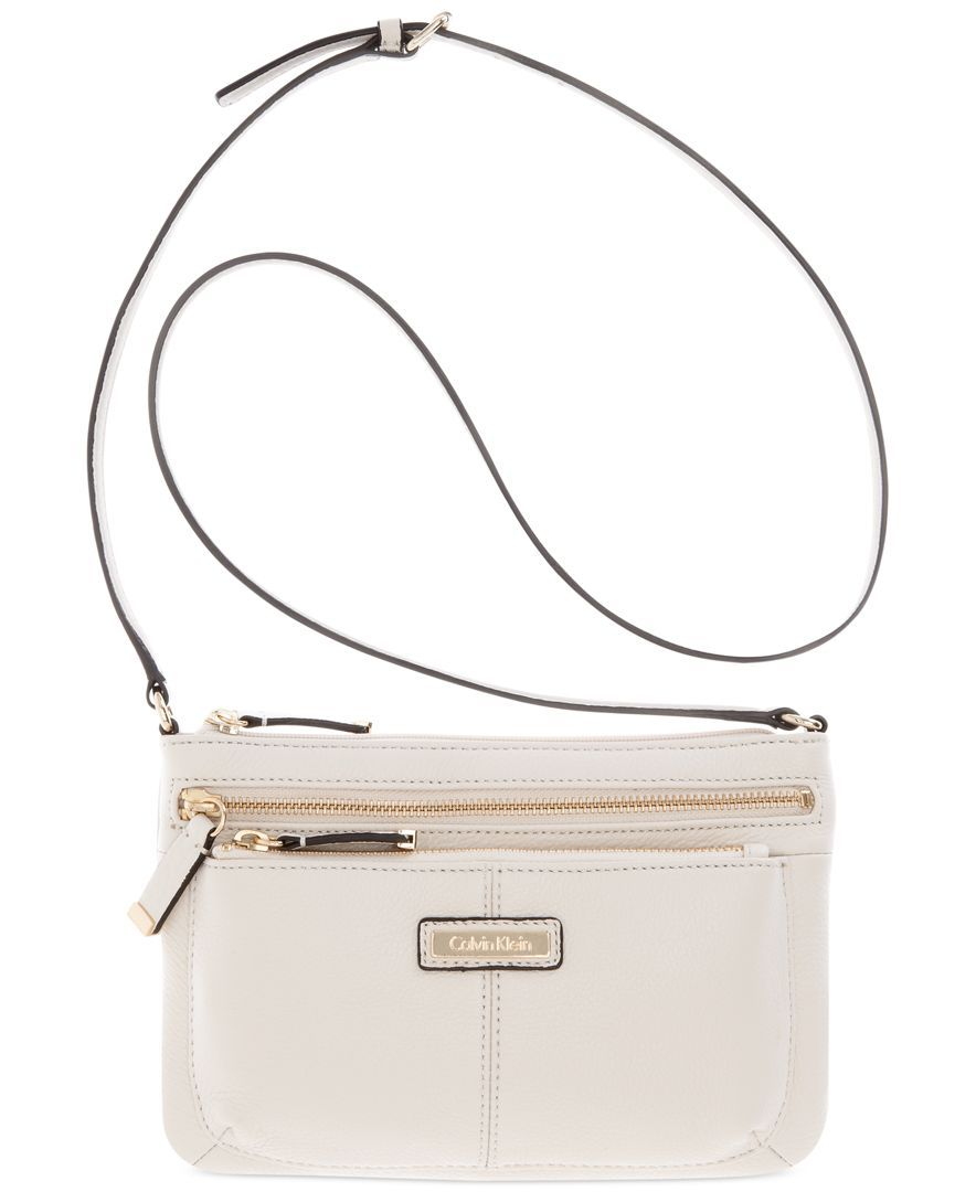 Calvin Klein Macys Key Items Pebble Crossbody