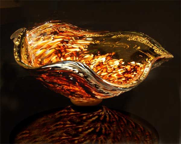 Blown Glass Vessel Sink   Looks Like Something By Chihuly
