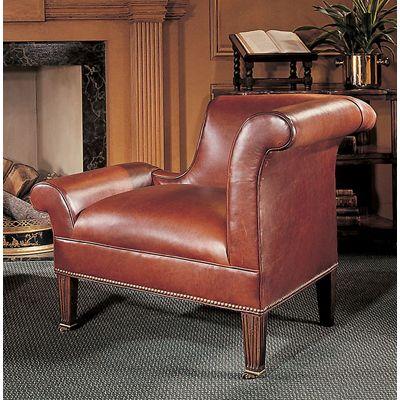 Century LR Century Leather Kilt Raf Chair available at Hickory