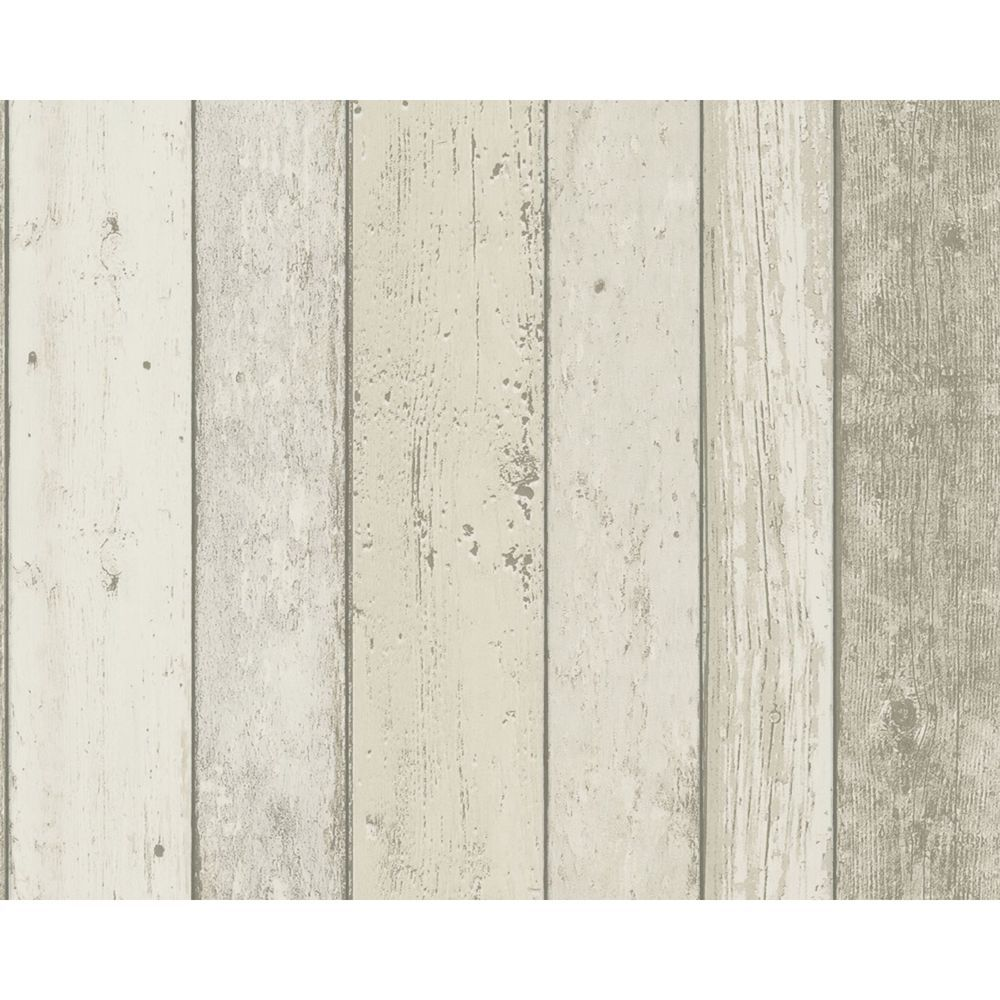 New England Wood Panel Effect Wallpaper Rolls Natural 8951 10