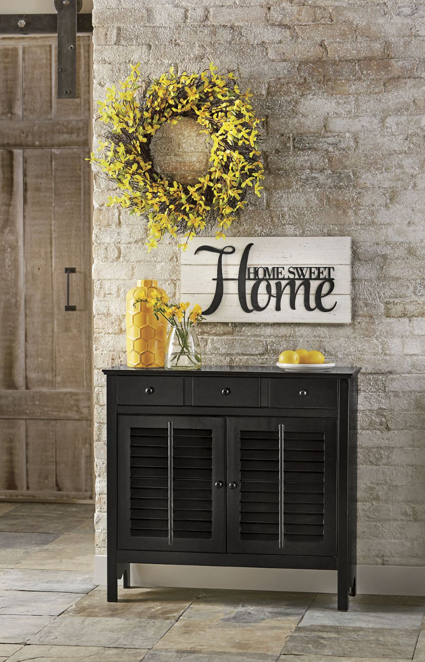 Spring home decor u start at the very beginning and add a spring