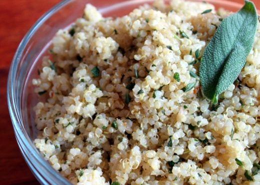 Herbed Quinoa Recipe on Yummly. @yummly #recipe