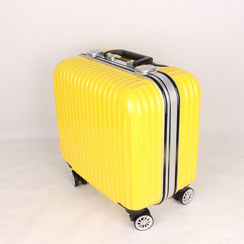 e26c6e5ac The 16 Inch Suitcase Cabin Luggage Universal Wheels Bag Boarding Case Small  Box…