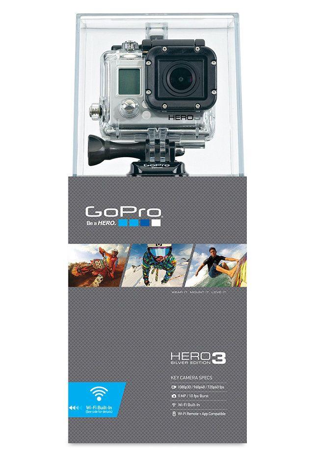 Go Pro Hero 3 Silver Edition Planet Kamera