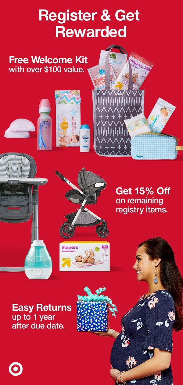 The best reasons to start a Target Baby Registry? A FREE