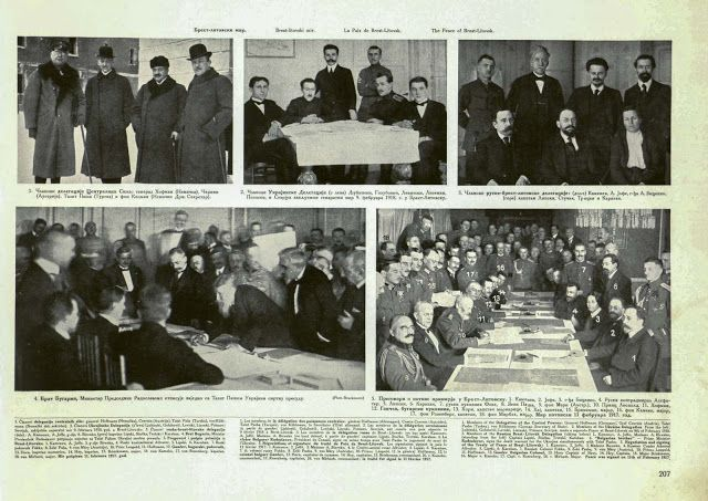 First Treaty of Brest-Litovsk - World War 1 And The Russian ...