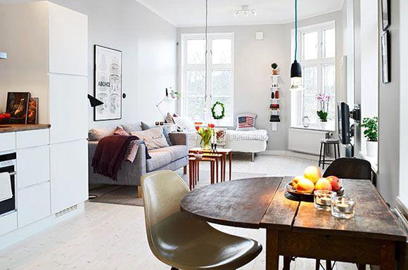 Kleine Wohnung einrichten \u2013 Ideen und Tipps Einrichten Wohnideen - homeoffice einrichtung ideen interieur