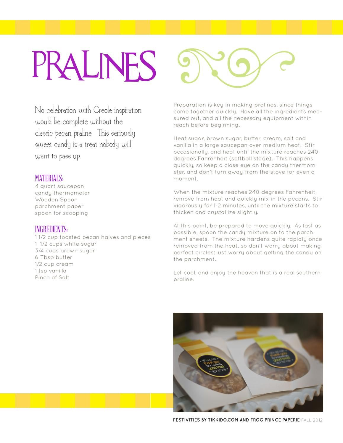 ISSUU - Festivities Magazine Fall 2012 by Frog Prince Paperie and Tikkido.com