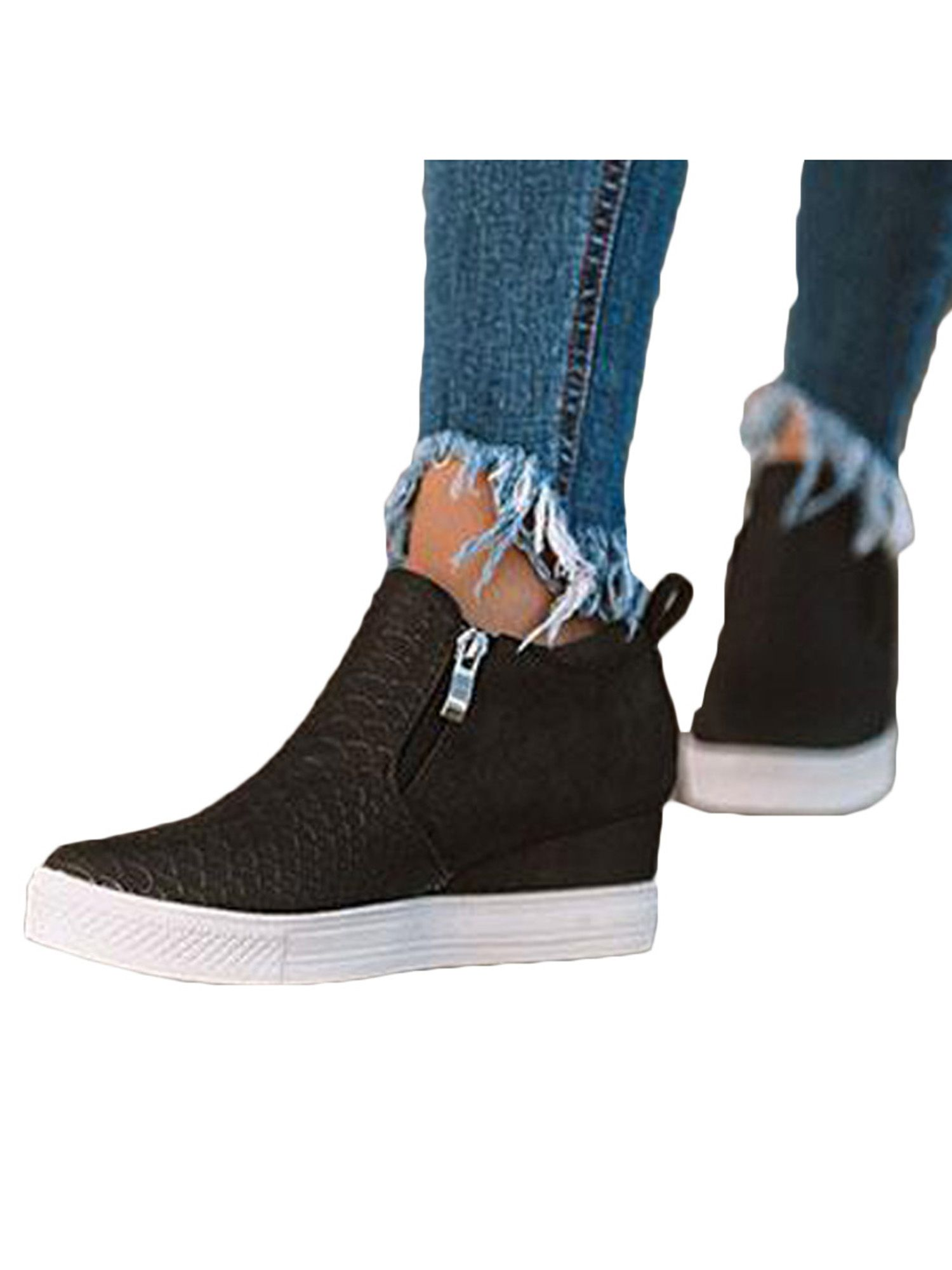 Wedge sneakers, Casual shoes