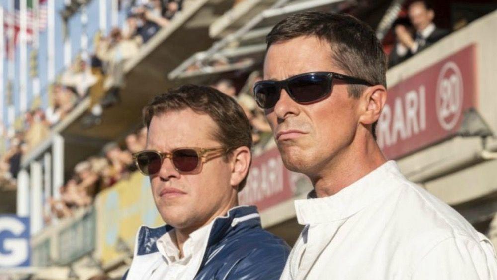 The First Trailer For Christian Bale And Matt Damon S Ford V
