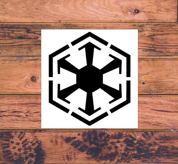 Star Wars Sith Inspired Decal  Star Wars Silhouette  by Carcals