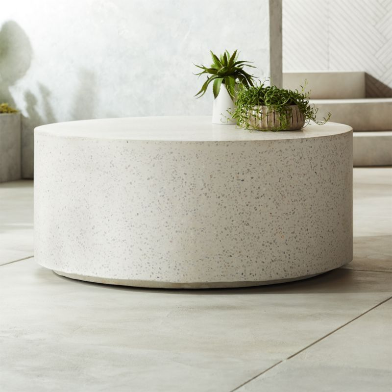 Terrazzo Coffee Table Large Coffee Tables Round Coffee Table
