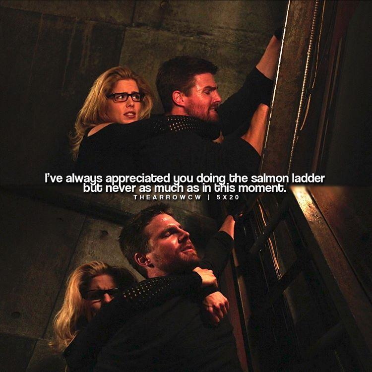 Arrow 5x20 Underneath Oliver And Felicity Arrow Dc