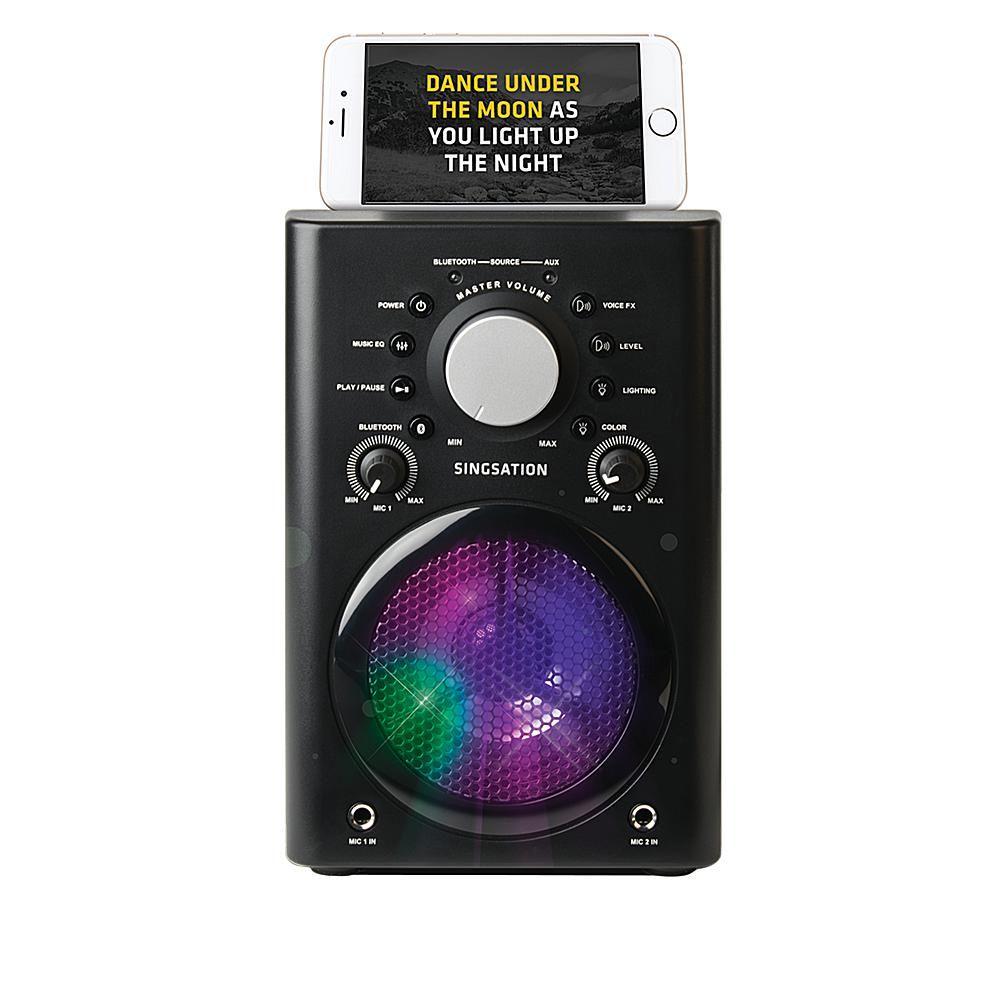 Singsation SPKA30Q All-in-One Karaoke System with Microphone & Speaker