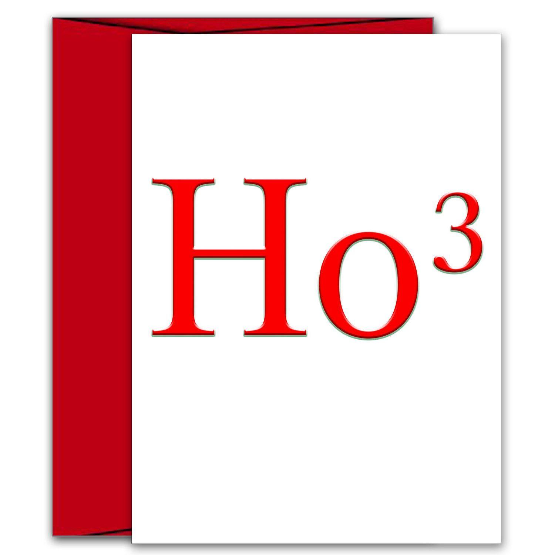 Ho3 Funny Holiday Card Ho Ho Ho Products