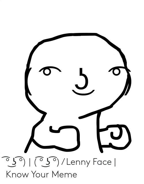 ʖ ʖ Lenny Face Know Your Meme Lenny Meme Faces Lenny Face Meme Memes