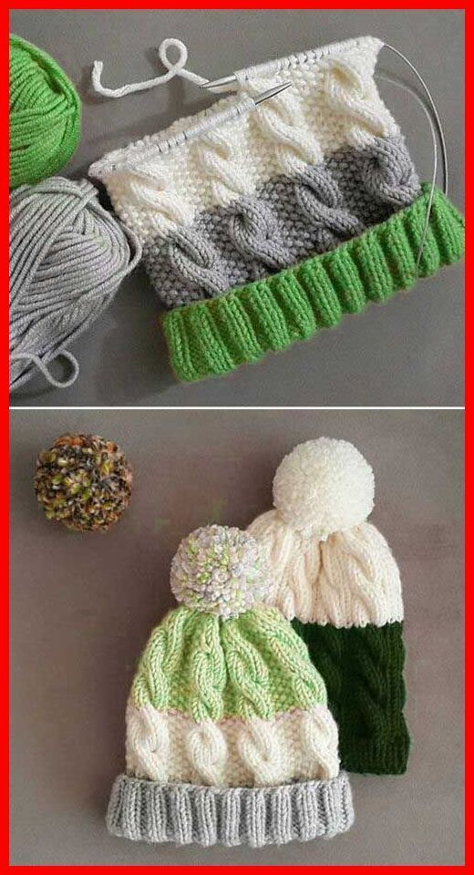 Photo of #stricken für kinder anleitungen Cozy Cable Knit Hat – Free Pattern –  – #Anle…