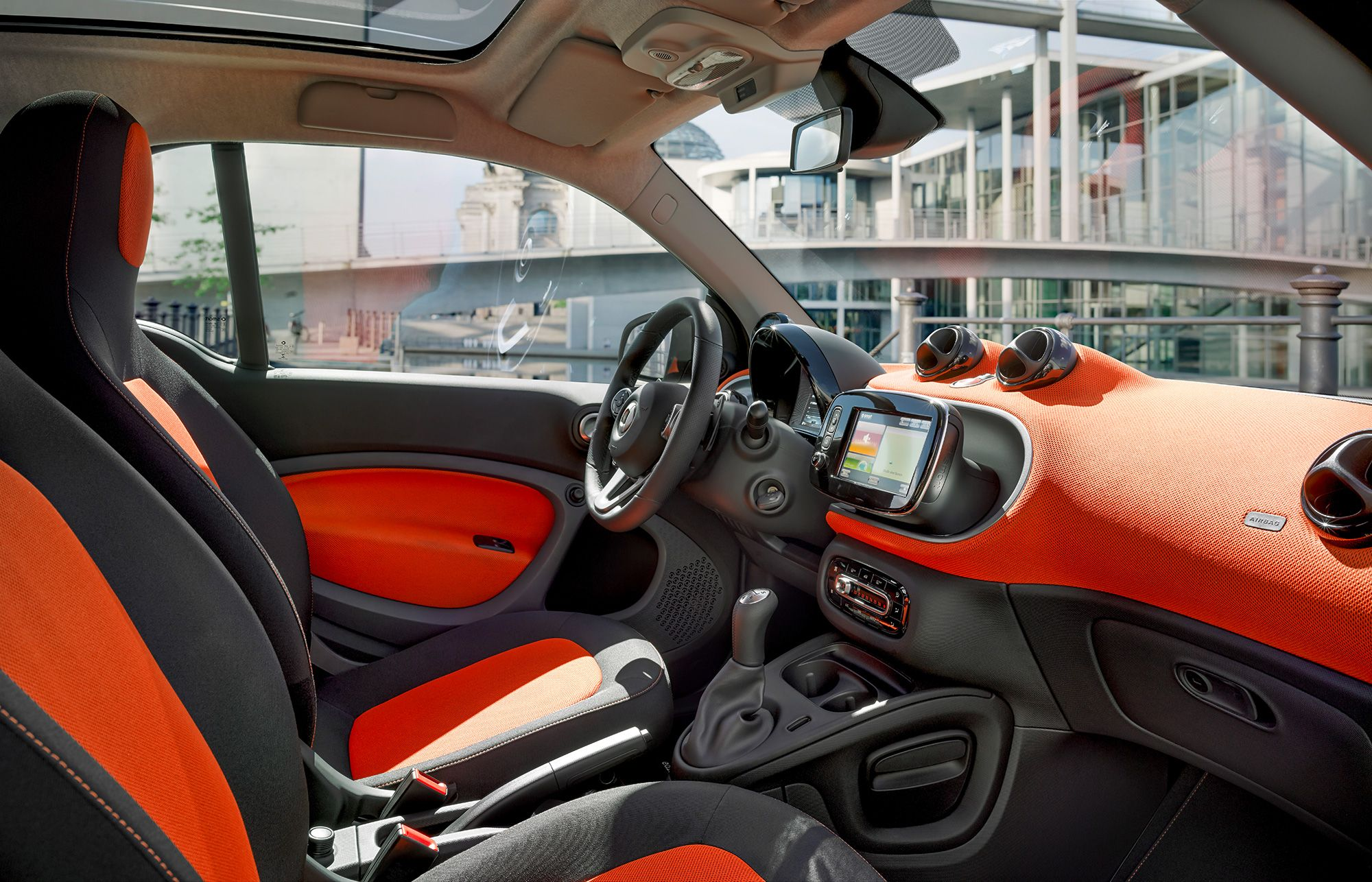 Get Connected The 2016 Smart Fortwo Features State Of The Art In