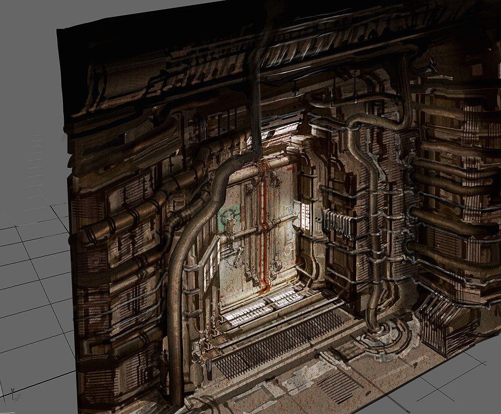 Deadspace concept art page Научная Фантастика pinterest