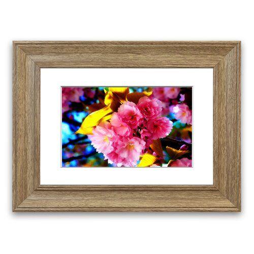 East Urban Home 'Beautiful Flowers' Framed Photographic Print   Wayfair.co.uk