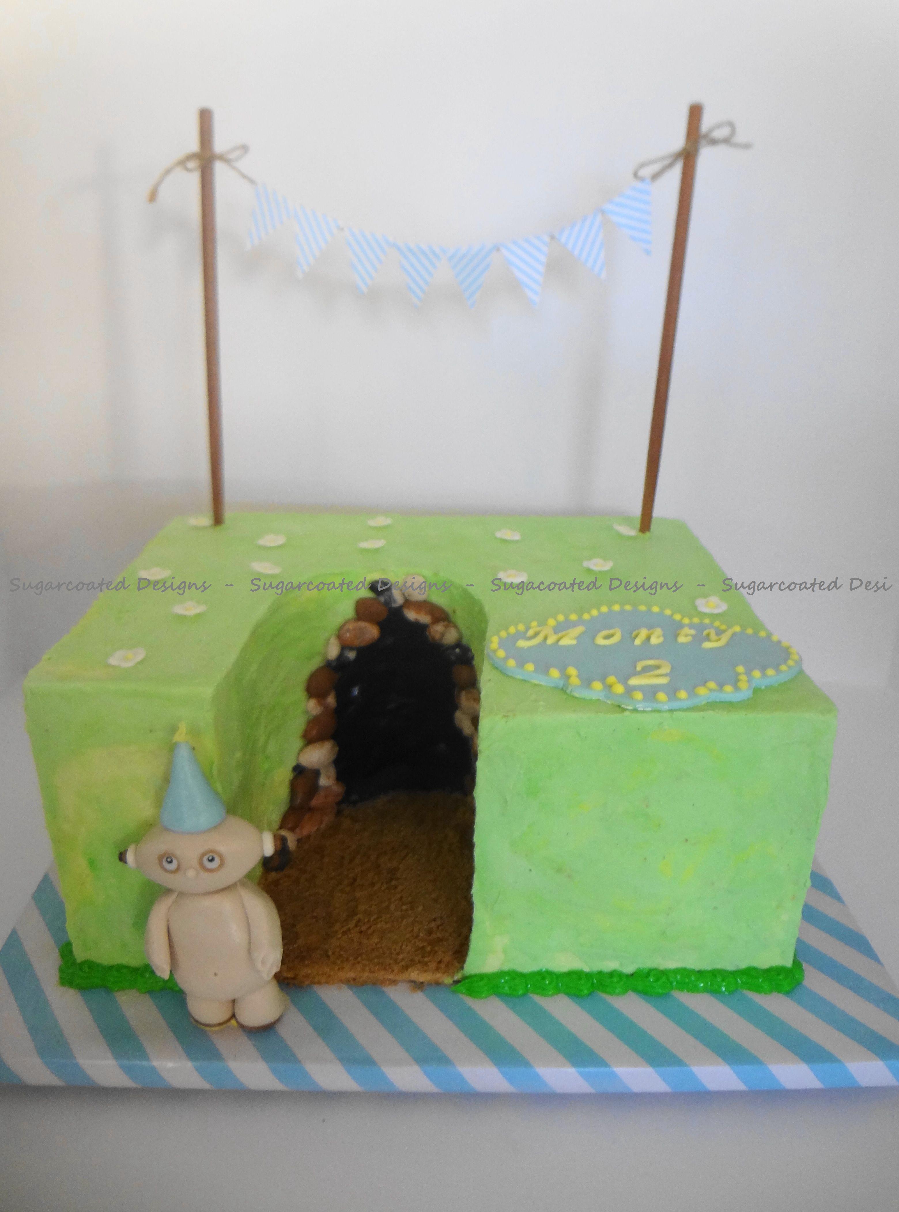 In the Night Garden cake - Makka Pakka | Garden cakes ...