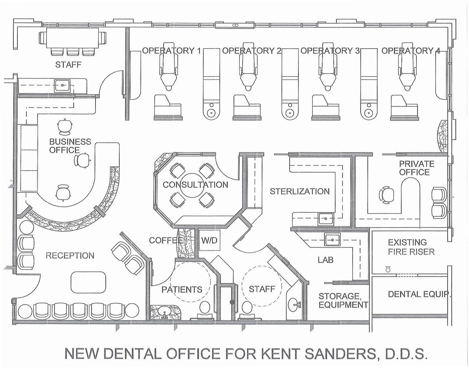 Medical office interior design 547 medical office interior for Draw office floor plan
