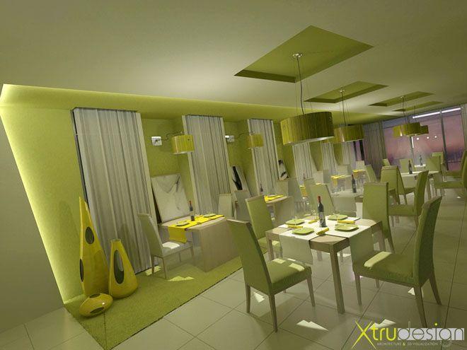 Diseño interior, Restaurante