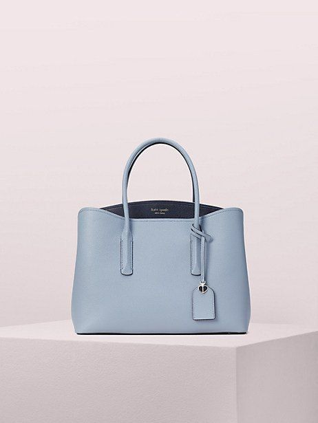 2eed6ea455fa margaux large satchel by kate spade new york in blue multi