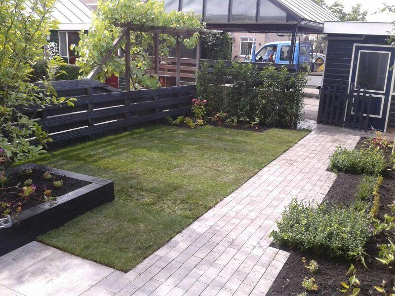 125 beplanting strakke tuin betaalbaar tuinontwerp door for Vijverfolie gamma