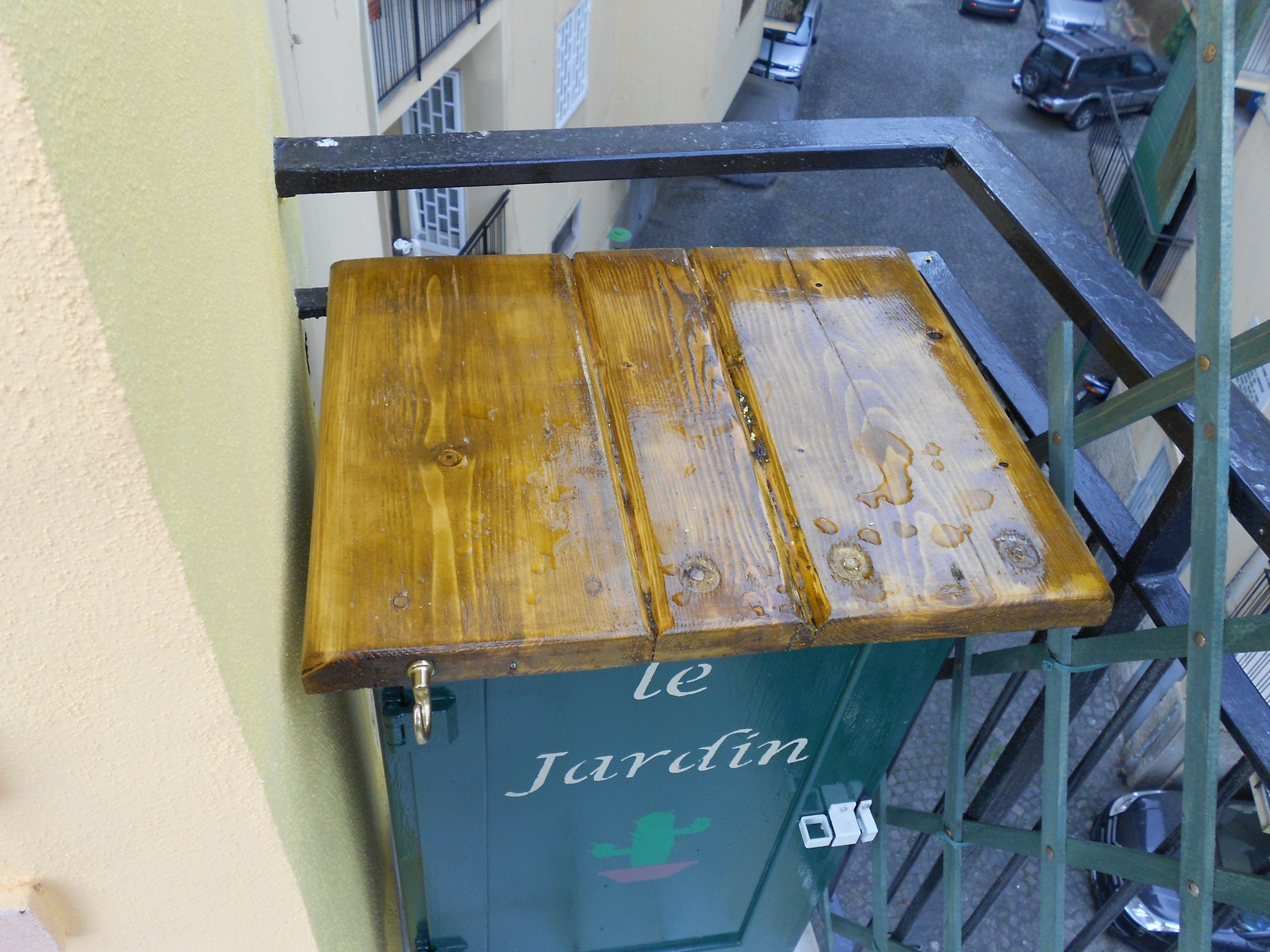 Vecchio Mobiletto Copri Contatore Elettrico In Alluminio Diventa Con