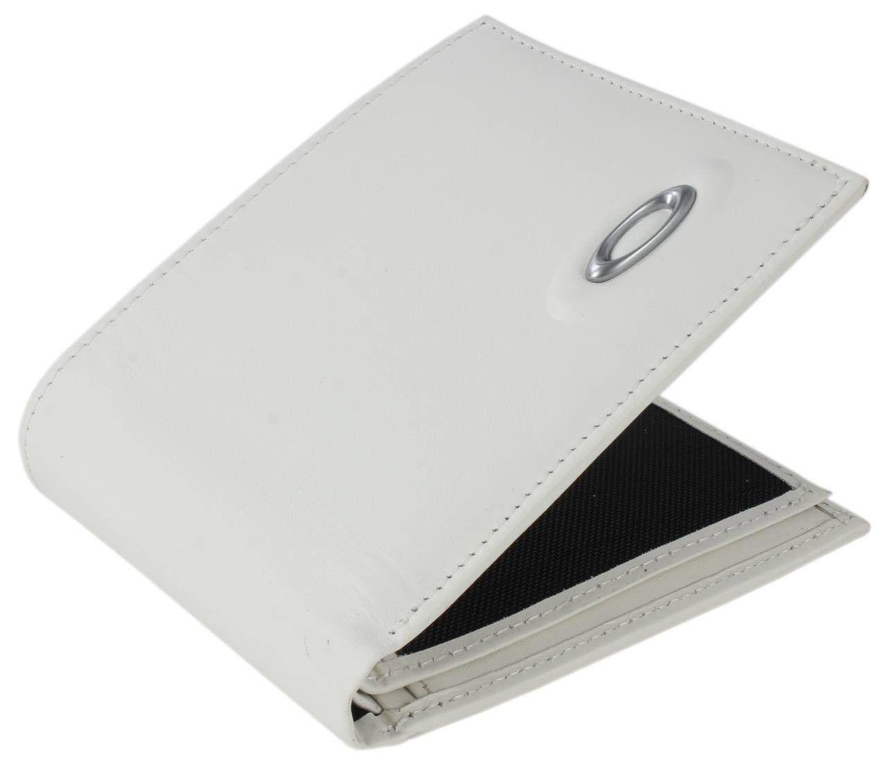 27c19a8554f96 Oakley Wallet - White Leather Wallet  Oakley  Mens  Wallet