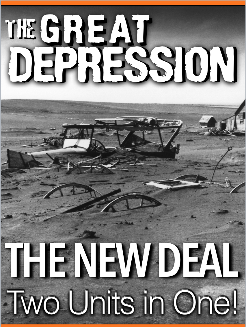 The Great Depression Unit /New Deal Unit - PPTs, Worksheets ...