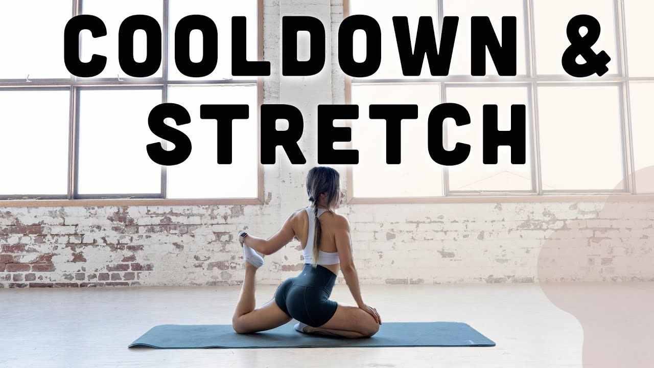 10 Min Full Body Cool Down Stretches For Recovery Flexibility Youtube Cool Down Stretches Shred Workout Exercise Form
