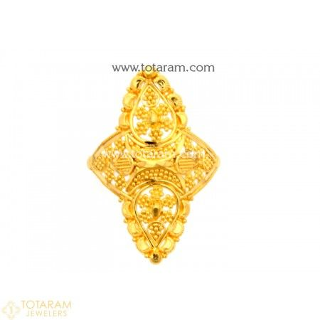 49e9c5c0b 22K Gold Ring For Women - 235-GR4151 - Buy this Latest Indian Gold Jewelry  Design in 3.750 Grams for a low price of $240.00
